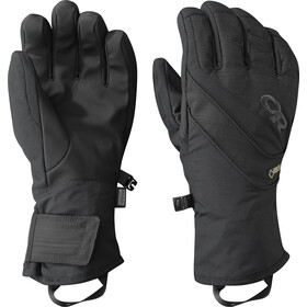 Outdoor Research Centurion Guantes Mujer, negro